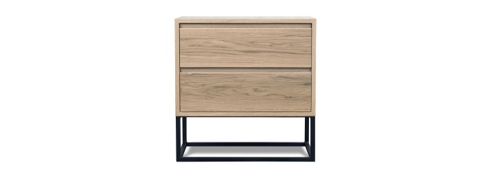 Dune two drawer bedside