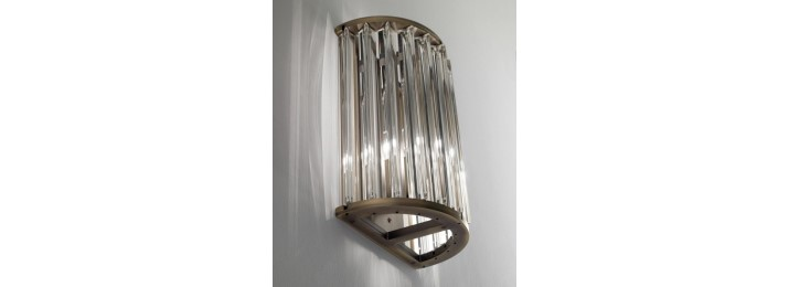 Crown wall light