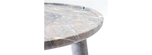 Stone coffee table detail
