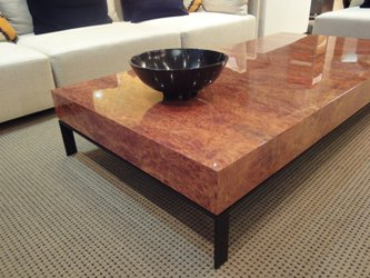 A High Gloss Finish Can Be Used To Great Effect To Hero Detailed Form Like  This Parquet Dining Table. Contrasting Colours Can Be Applied To The Table  Top ...