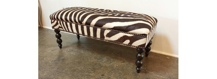 Bespoke oblong & square ottomans